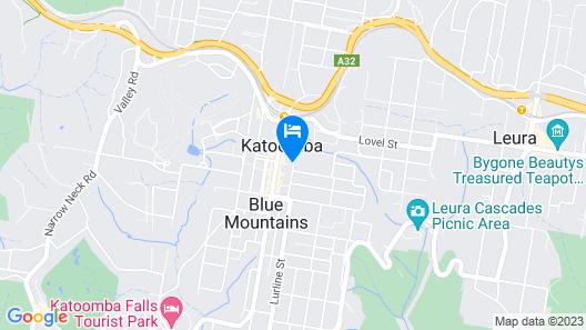 Katoomba Mountain Lodge Map