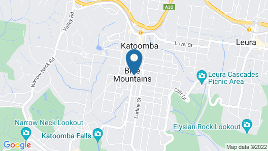 Blue Mountains YHA - Hostel Map