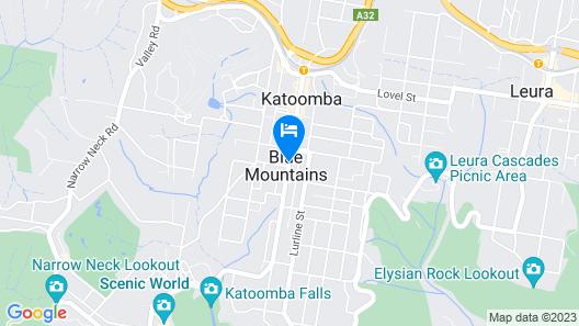 Blue Mountains YHA - Hostel Map