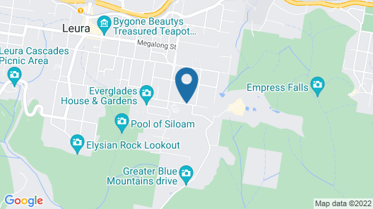 Nesuto Leura Gardens Map