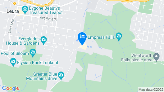 Fairmont Resort & Spa Blue Mountains, MGallery by Sofitel Map
