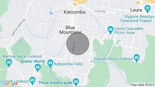 Oatley Place,katoomba-close to Everything-free Wifi/netflix Map