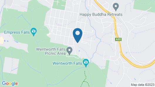Falls Mountain Retreat Map