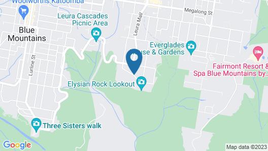 Leura Camellias Map