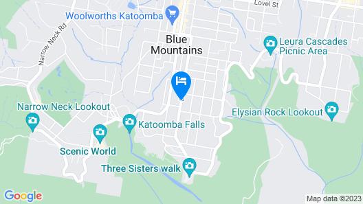 Shelton-Lea B&B Map