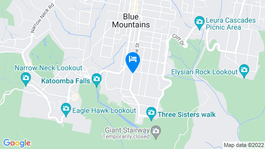Katoomba Townhouses Map