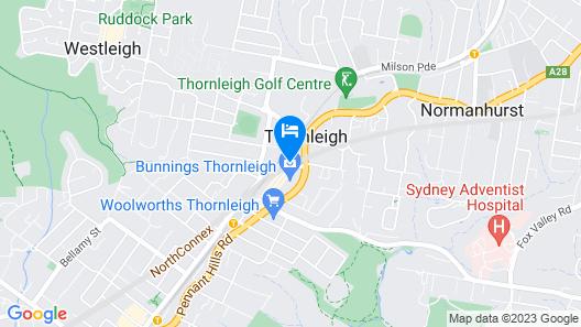 ibis Sydney Thornleigh Map