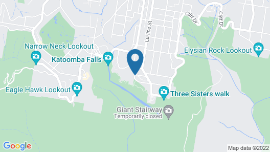 Lilianfels Resort & Spa - Blue Mountains Map
