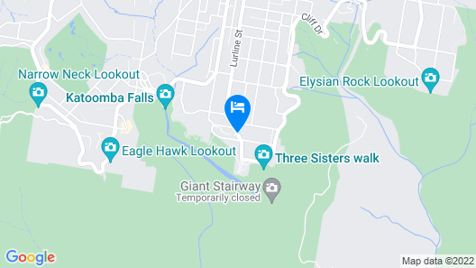 Echo Point Discovery Motel Map
