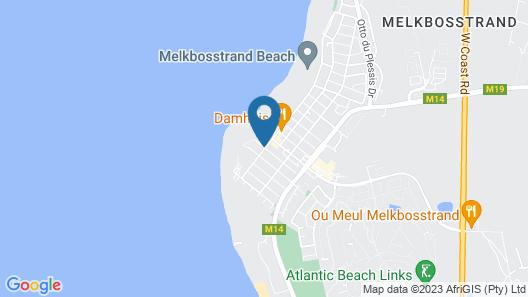 Melkbos on D' Beach Map