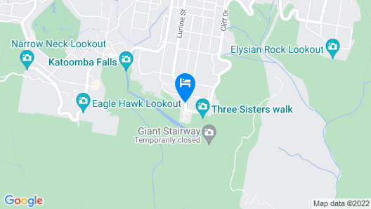 Echo Point Holiday Village Map