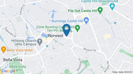 Rydges Norwest Sydney Map