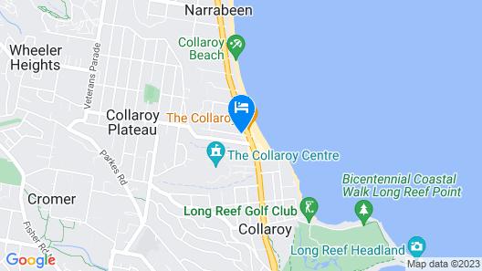 Sydney Beachouse YHA - Backpacker Map