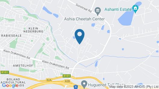 De Leeuwenhof hotel/guesthouse Map