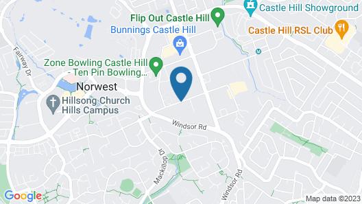 Quest Castle Hill Map