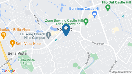 Adina Apartment Hotel Norwest Sydney Map
