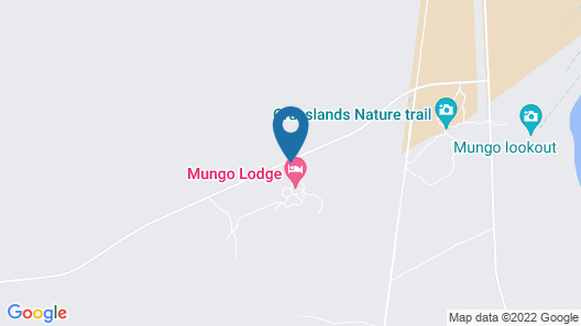 Mungo Lodge Map