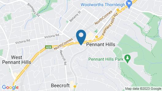 Nesuto Pennant Hills Map