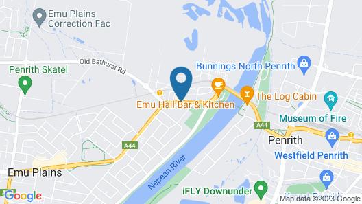 Valuesuites Penrith Map