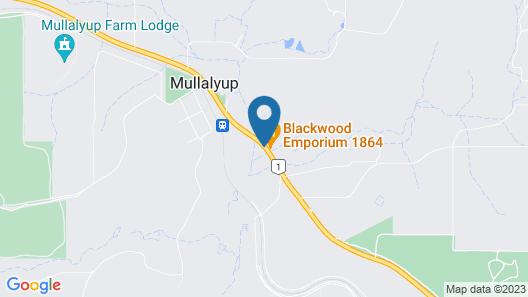Blackwood Inn Innkeepers House Map