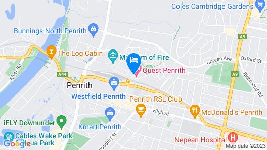 Quest Penrith Map