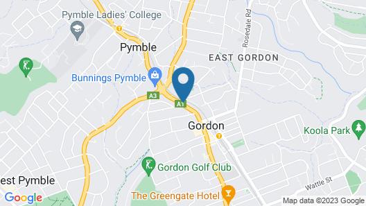 Seranin Gordon Map