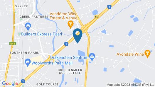Boschenmeer Grande Lodge Map