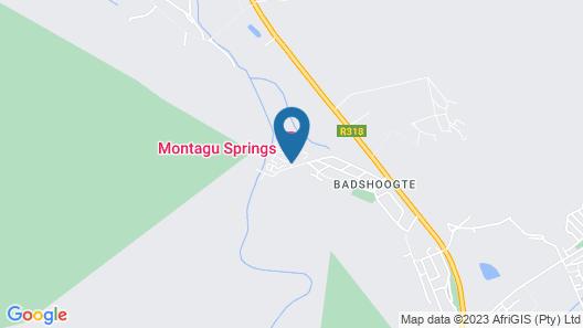 Montagu Springs Resort Map