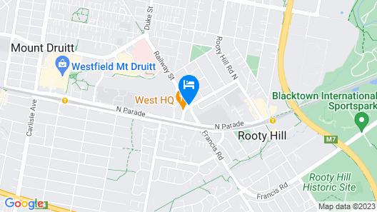 Novotel Sydney West HQ Hotel Map