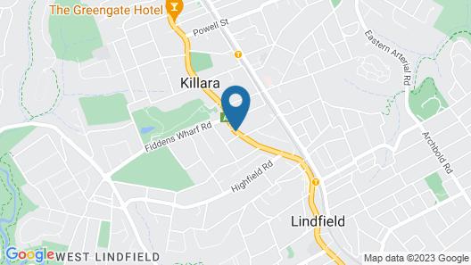 Killara Inn Hotel & Conference Centre Map