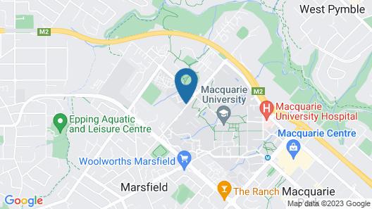 Macquarie University Village Map