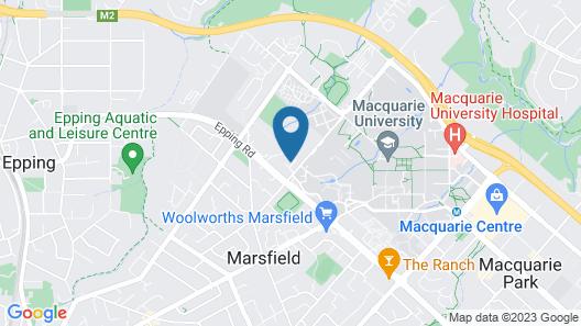 KOZYGURU Marsfield Macquarie Uni 3 Rooms Map
