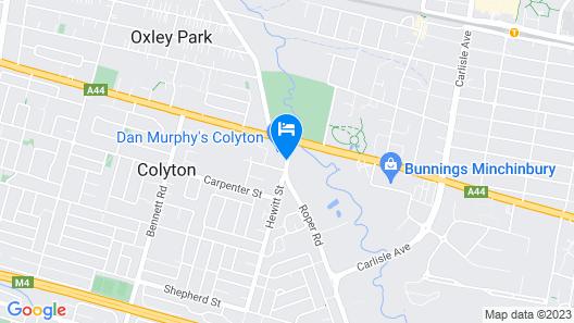 Nightcap at Colyton Hotel Map
