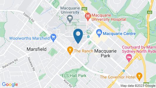 Trigo Home - Saunders Close Sydney Map