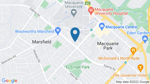 Modern Apartment Next to Largest Shopping Centre Map