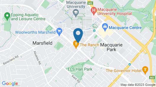 Wyndel Apartments - Mooltan Avenue Map