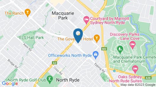 Quest Macquarie Park Map