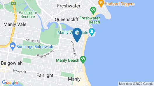 The Manly Hotel Est. 1964 Map