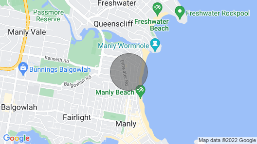 Manly 2 Stay Holiday Apartments Map