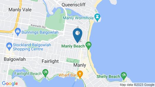 Manly's Hidden Gem Map