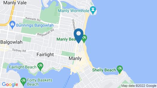 Sandy Bottoms Guesthouse Map