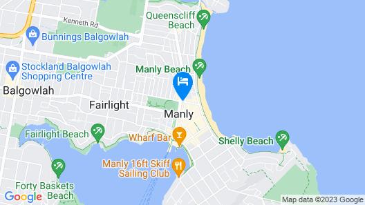 Stoke Beach House Map