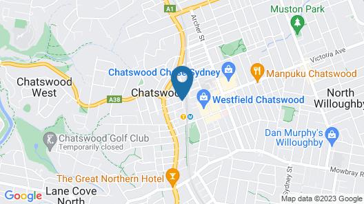 Mantra Chatswood Map