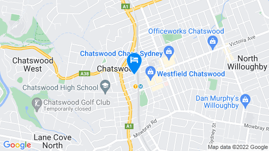 Mantra Chatswood Map