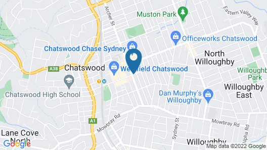 Quest Chatswood Map
