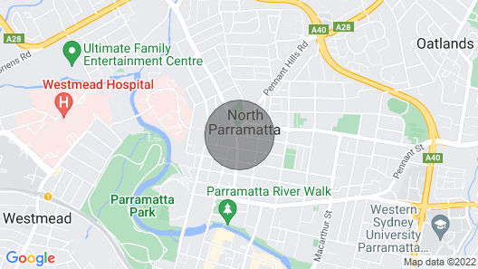 Glasshouse Apartment - at Parramatta Map