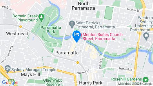 PARKROYAL Parramatta Map