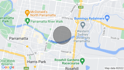 Relaxing Parramatta Apartment With Parking Map