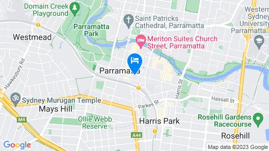 Home away from home Parramatta Map