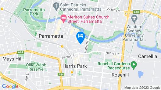 Urban escape Parramatta Map
